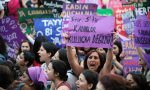 Turkish women protest restrictions on abortion rights. Source:  The Guardian